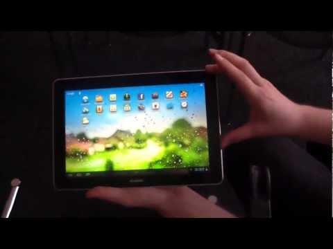Huawei MediaPad 10 FHD Hands On at IFA 2012