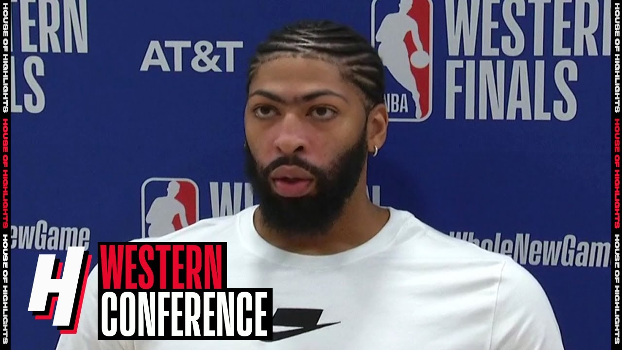 Anthony Davis Postgame Interview - Game 4 | Lakers vs Nuggets | September 24, 2020 NBA Playoffs