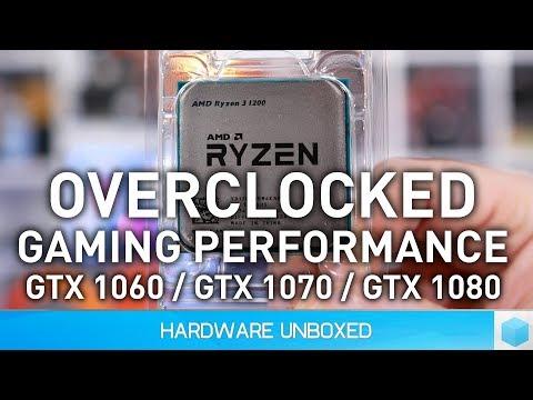 Ryzen 3, Overclocked Gaming Benchmark Guide!