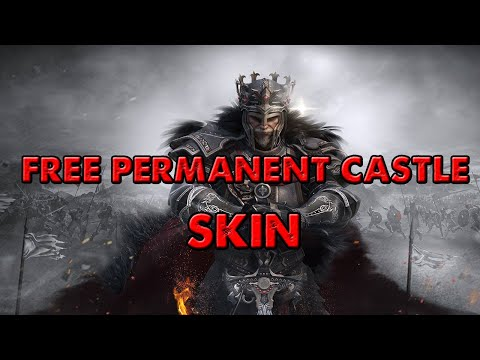Clash Of Kings - GET PERMANENT CASTLE SKIN IN DECORATION LOTTERY EVENT