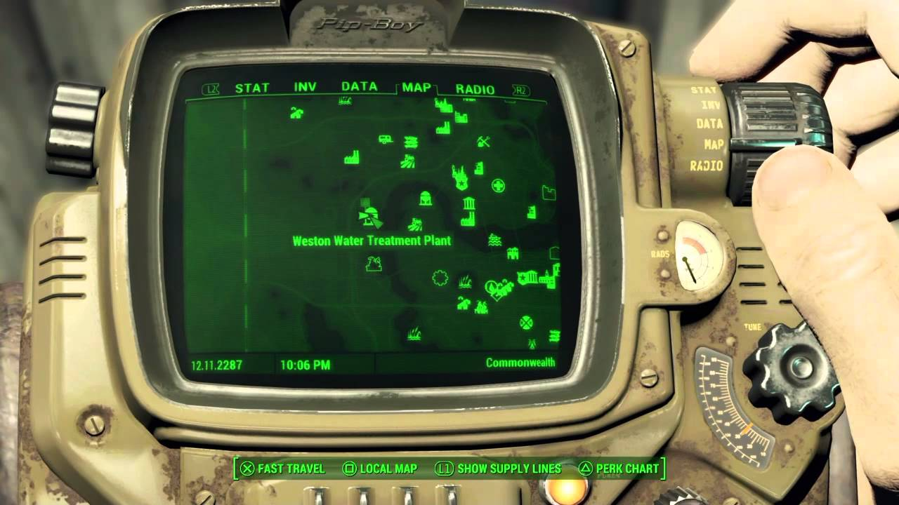 Fallout 4 Picket Fences Magazine Weston Water Treatment Plant Youtube