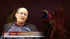 Rubén Guarderas director del Ballet Nacional del Ecuador en los 38 años de existencia