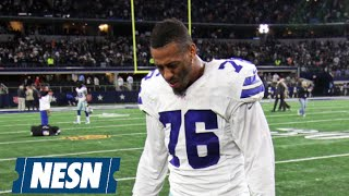 Greg Hardy Changes Twitter Bio To Say 'Innocent Until Proven Guilty'