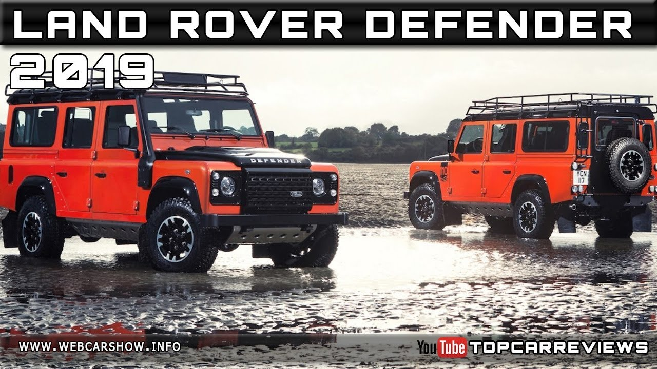 2019 land rover defender review rendered price specs. Black Bedroom Furniture Sets. Home Design Ideas