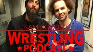 Jay Briscoe shoots on Sam Roberts
