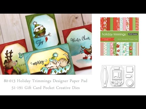 Handmade Gift Card Holders