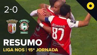 Sp. Braga 2-0 Marítimo - Resumo | SPORT TV