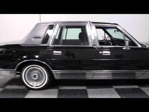 2161 ATL 1988 Lincoln Town Car