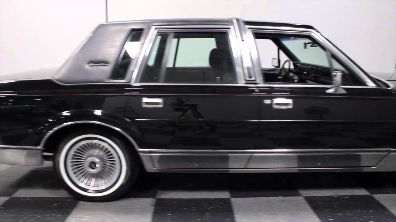 2161 Atl 1988 Lincoln Town Car Youtube