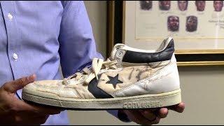 «Золотые» кеды  обувь Майкла Джордана уйдёт с молотка более чем за 1 тыс