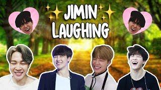 Jimin laughing