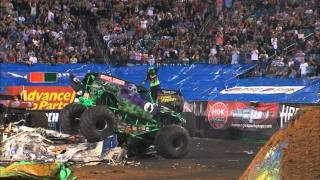 Monster Jam - Grave Digger Monster Truck 30th Anniversary Trailer
