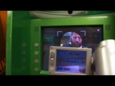 Начертание. Эксперимент с биометрическим банкоматом сбербанка.
