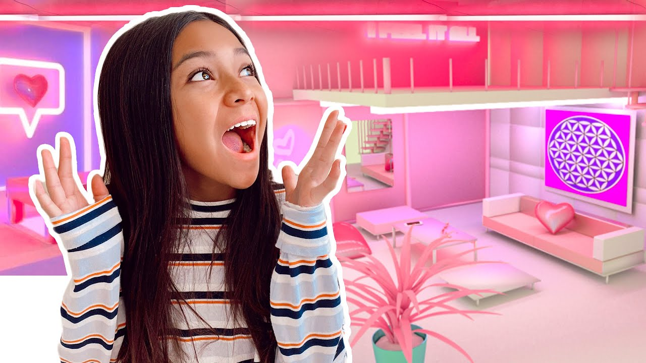 Room Tour!! NayVee's DREAM ROOM Makeover 13th Birthday SurPrise!!