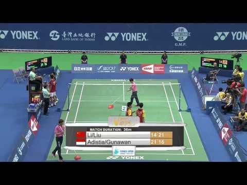 2014 YONEX CHINESE TAIPEI OPEN- F- MD - Match 5