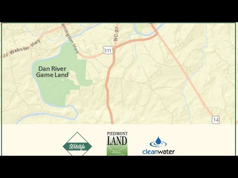 Large Piedmont Parcel Transfer Becomes Dan River Game Land