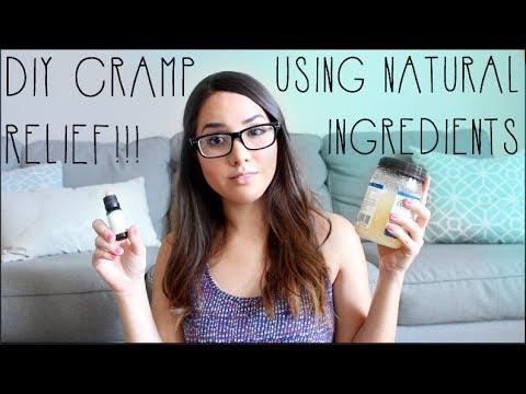 Natural Period Cramp Relief Cream DIY Cramp Reliever