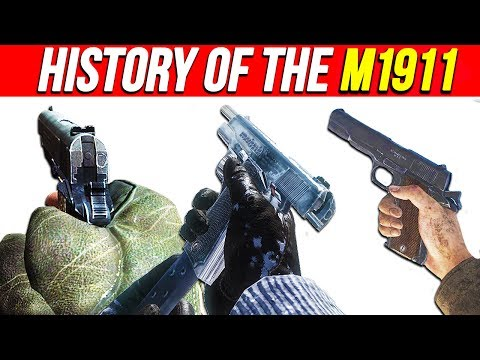 THE HISTORY of the M1911 PISTOL in Call of Duty | Chaos