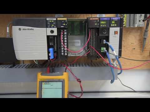 1756 If16 Clogix Analog Module Testing Youtube