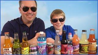 Soda Gauntlet : Ranch Dressing, Buffalo Wing, Cotton Candy, Dandelion, Pb & J, Pumpkin Pie