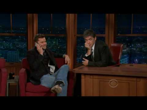 Joshua Jackson on Late Late Show with Craig Ferguson