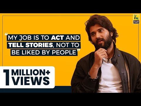 Vijay Deverakonda Interview | Dear Comrade | Kabir Singh | Anupama Chopra | Film Companion