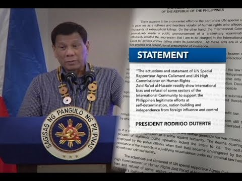 Pagkalas ng Pilipinas sa International Criminal Court, dahil sa paglabag ng ICC sa due process