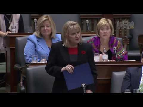 Sylvia Jones Questions Minister of Infrastructure on Taxpayer Funded Partisan Ads