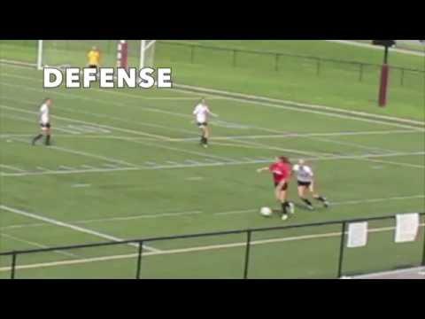 Kaylie Schans Defense clip Women's Soccer Montoursville Area Senior High School Class 2018