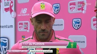 South Africa vs Pakistan | Pink ODI 2019 | Wrap