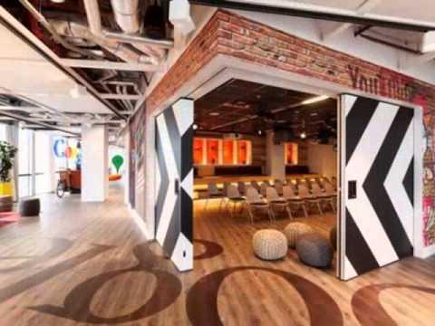 Nội thất văn phòng của Google tại Nhật Bản - Hà Lan - Thụy Sỹ - Singapore - Los Angeles - Isarel