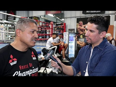 """ROBERT GARCIA """"MIKEY TOO STRONG FOR LOMACHENKO. HE WANTS LOMA MAY 5TH OF NEXT YEAR!"""""""