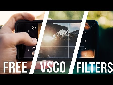 FREE VSCO FILTERS For IOS And ANDROID!!!