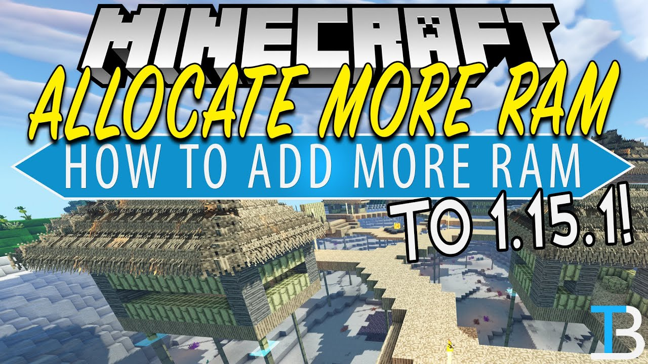 How To Allocate More RAM to Minecraft 100.1005 (Add More RAM to Minecraft 100.1005!)