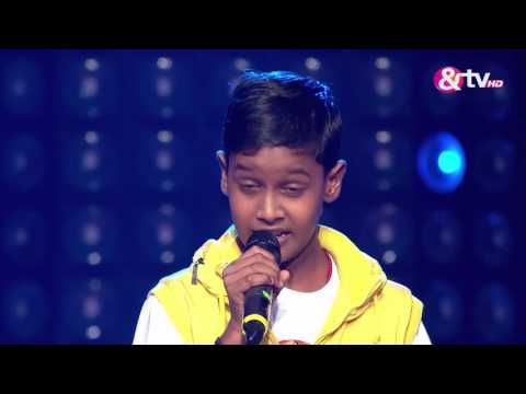 Chetan Bharanga - Blind Audition - Episode 2 - July 24, 2016 - The Voice India Kids
