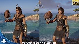 Assassin's Creed Odyssey PS4 Pro VS PC Maximum Settings | Graphics Comparison Blind Test