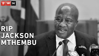Minister in the Presidency, Jackson Mthembu has passed away due to COVID-19 complications. Here are some moments of him from the archives remembering his sense of humour and wise words.  #JacksonMthembu #COVID19