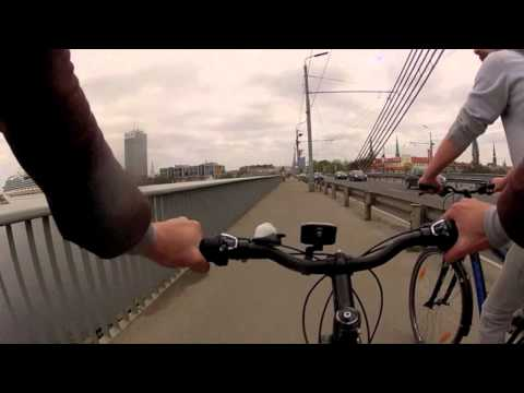 Cycling in Riga, Latvia - a Chris Cummins Ride Guide