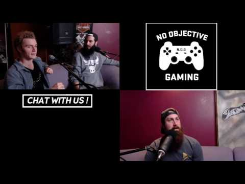 #25 - GROWING UP AS GAMERS - No Objective Gaming Podcast