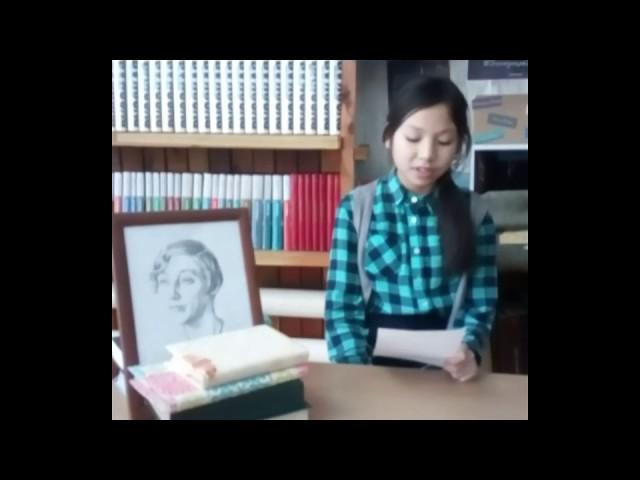 Изображение предпросмотра прочтения – ЕвгенияСыгырта читает произведение «Белоснежка» М.И.Цветаевой