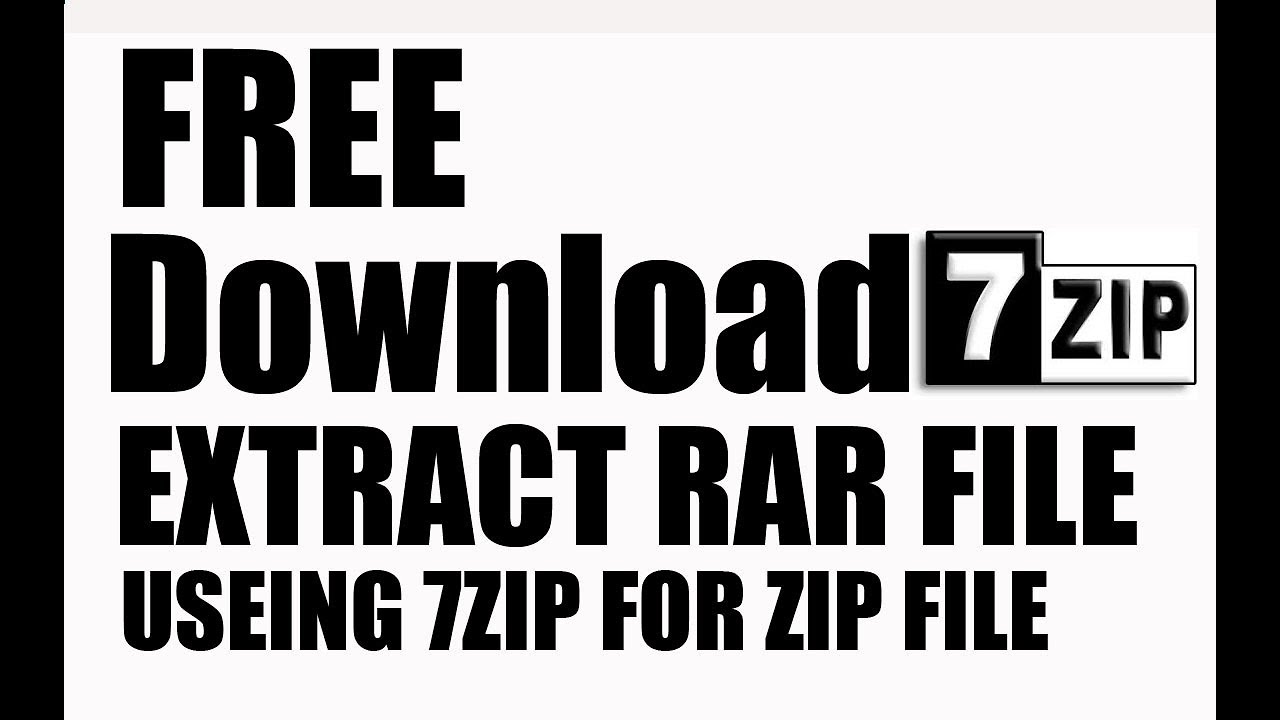 Video id 20794 about How to install 7 Zip for Windows 7, Common Errors