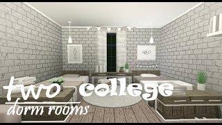 2 Camere del College Dorm! Boho e Rustico (roblox)