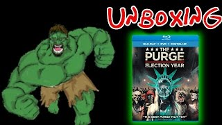 The Purge: Election Year Blu-Ray Unboxing