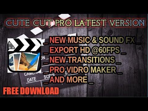CUTE Cut PRO 'NO WATERMARK' Latest Version | Cute Cut Pro Apk