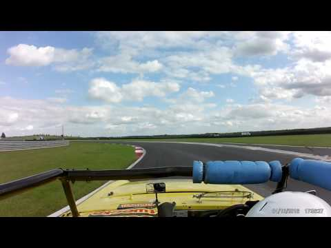 TEAM SLAP MY TOP RACE 2 SNETTERTON 12/08/17