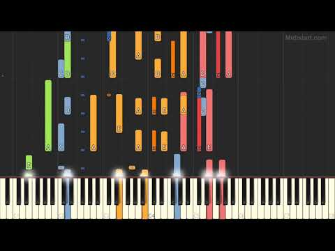 Debbie Gibson - Lost in Your Eyes (Instrumental Tutorial) [Synthesia]