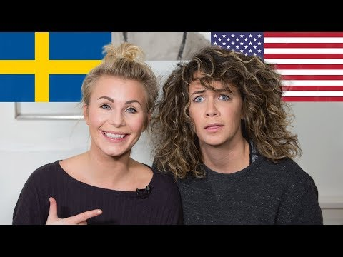 How Swedish ARE You? Swedish Woman quizzes American Wife on Swedish Culture (Funny)