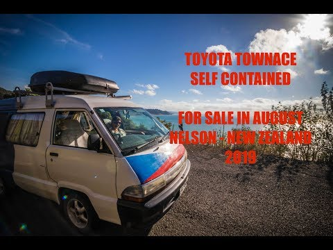 Our Campervan FOR SALE - Toyota Townace Self Contained (New Zealand 2019)