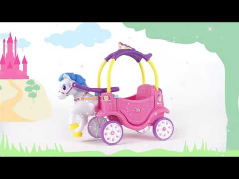 Little Tikes Princess Horse and Carriage | Demo