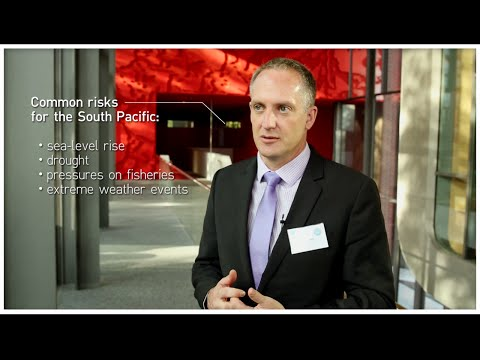 Key Climate Risks and Adaptation in the South Pacific - Interview with Dr. Jon Barnett